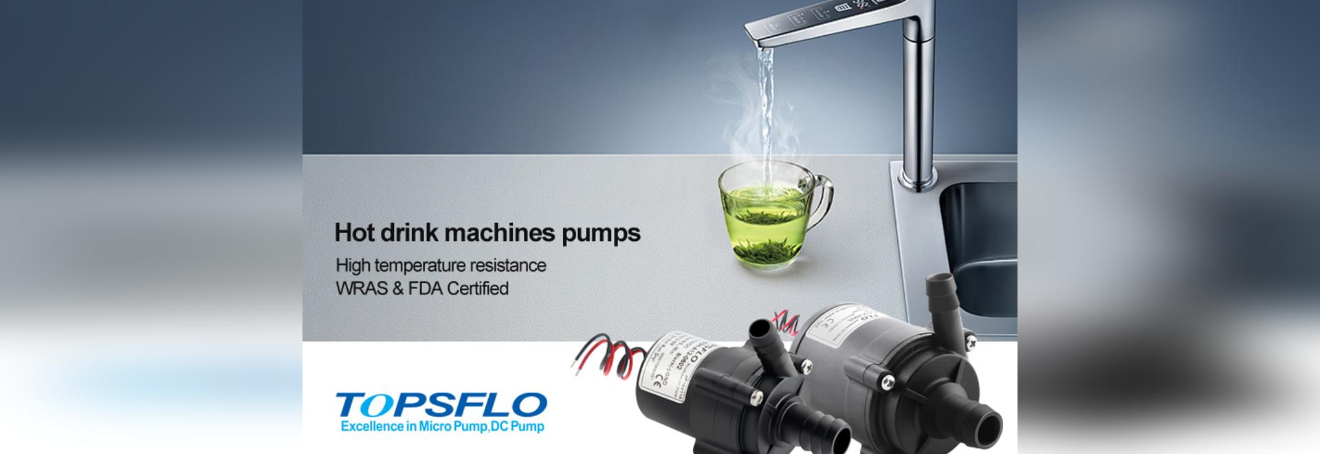 Entmystifizierung | warum sich die weltweit bekannten Heißgetränkeautomatenhersteller alle für TOPSFLO-Pumpen entschieden haben