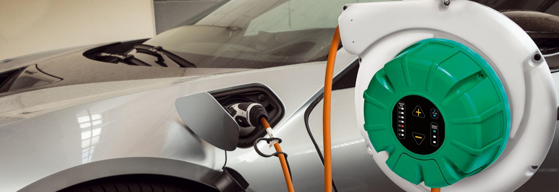 ERV Ladung grüne Fahrzeuge