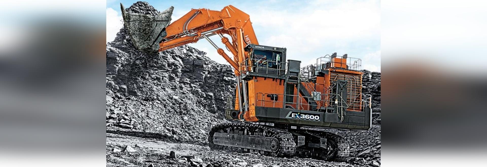 EX3600-7 Bergbau-Bagger und -Schaufel