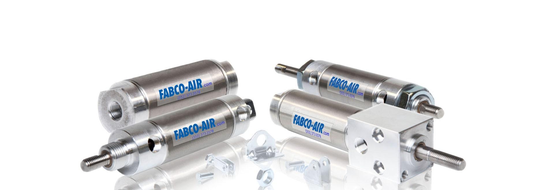 Fabco-Luft, Inc. gibt neuen H-Reihen-Edelstahl, Wegwerfzylinder-Produktserie frei!