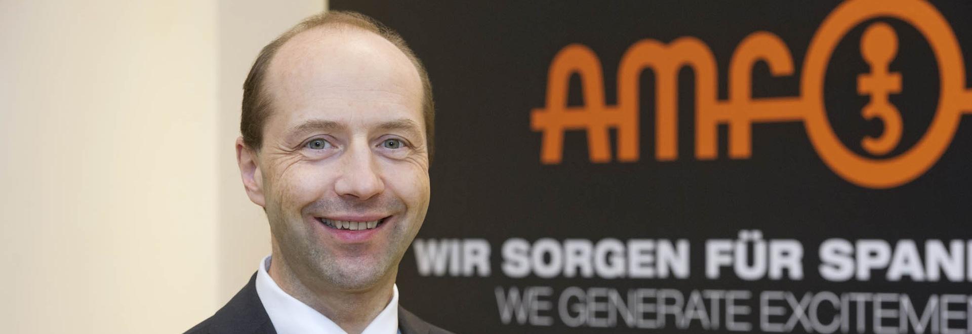 Johannes Maier, geschäftsführender Gesellschafter von AMF, sieht auch 2020 Chancen für Wachstum.