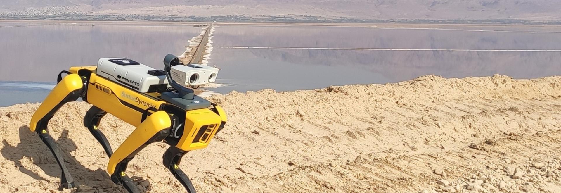 Die Kombination der Sparrow-Drohne von Percepto mit Spot schafft eine einzigartige Lösung für die Ferninspektion
