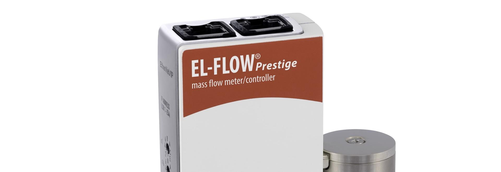 Massenflussregler mit Ethernet-Schnittstelle