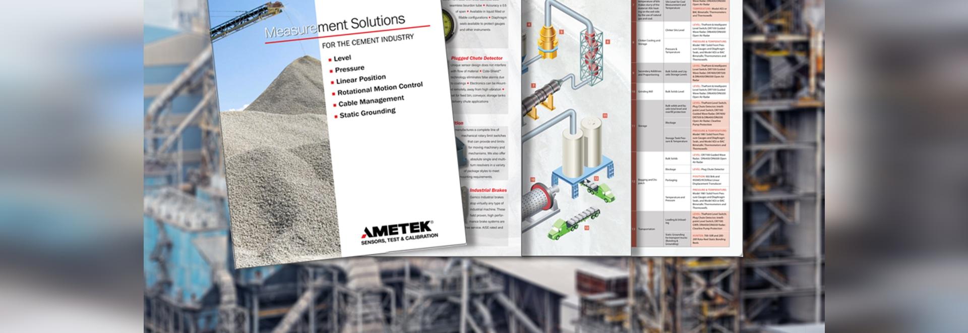 Measurement Solutions for the Cement Industry befasst sich auch mit Druckmessgeräten