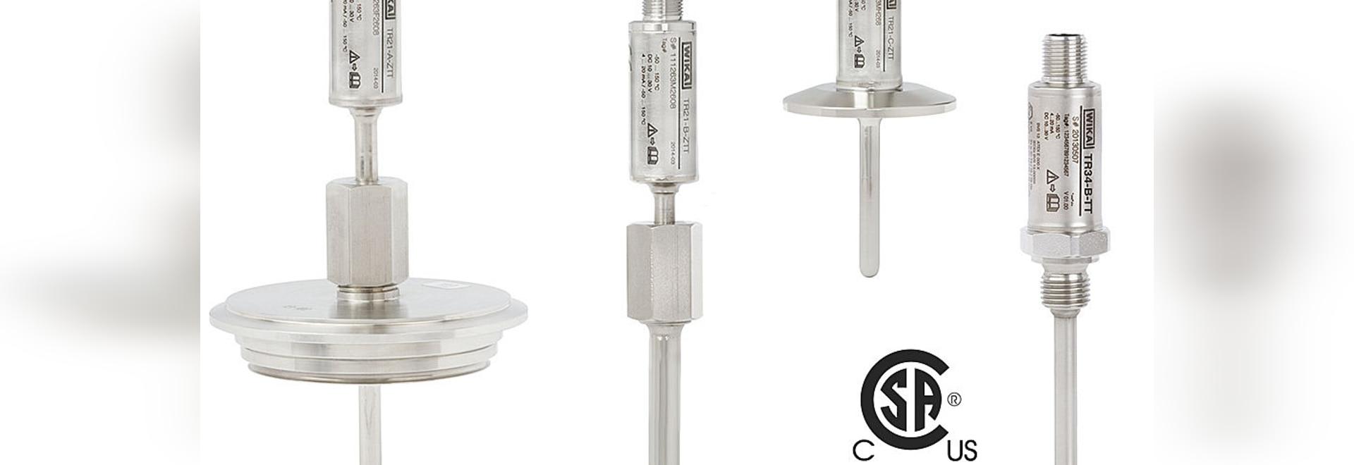 """Miniatur-Thermometer jetzt auch mit CSA-Siegel für """"Ex i"""""""