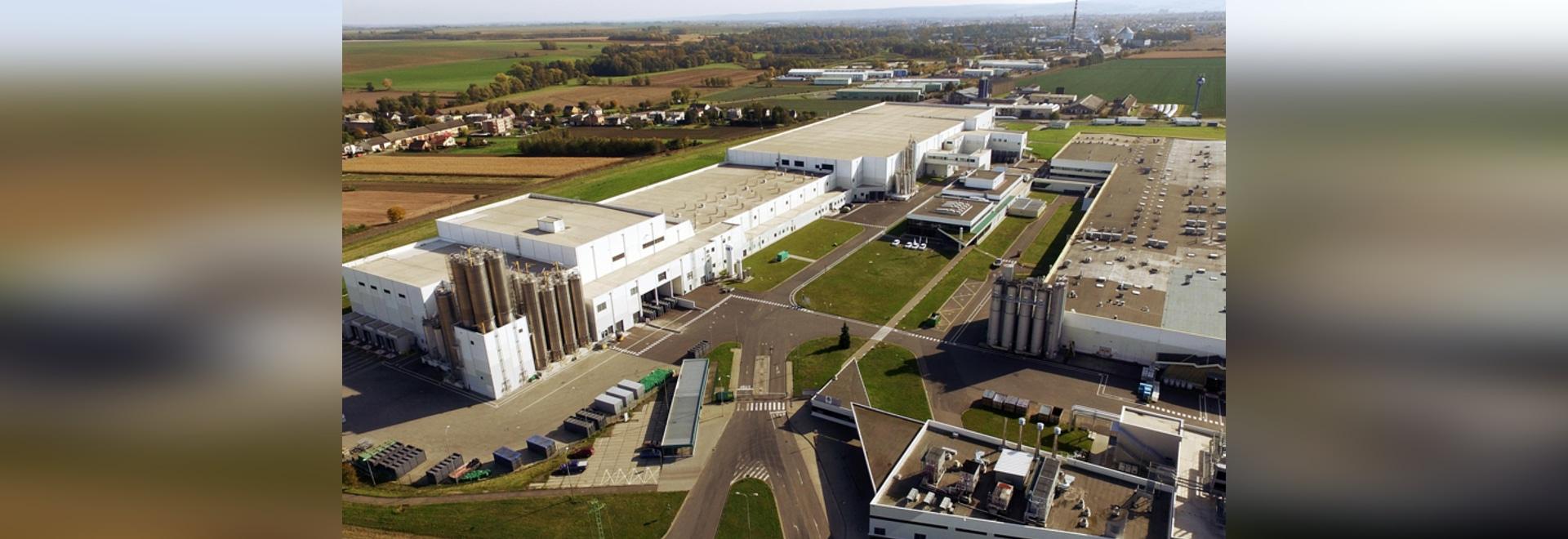 Mondelez Internationals Keks-Fabrik-Expansion, Opava, Tschechische Republik