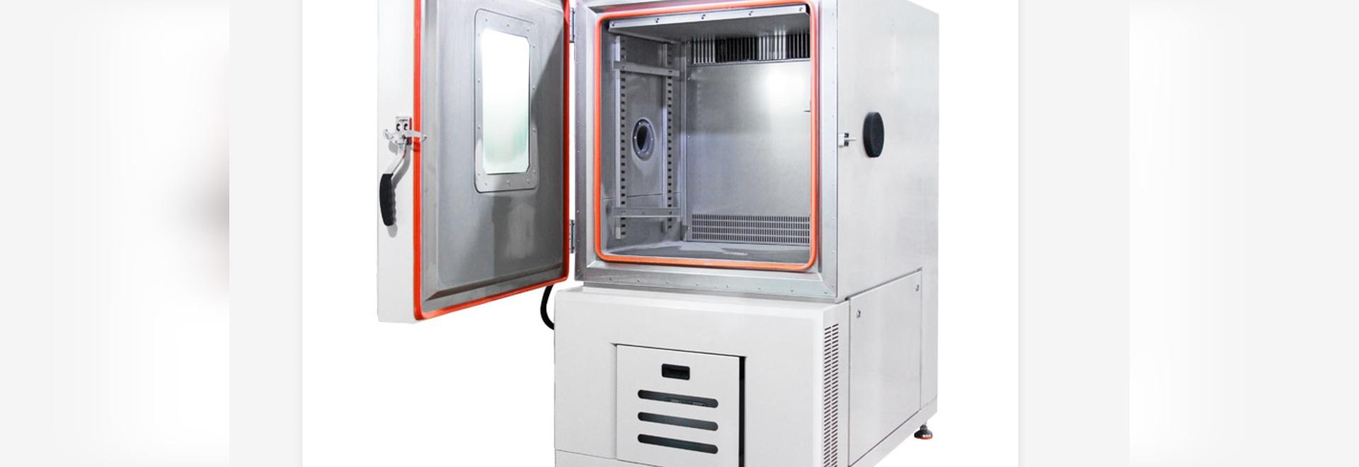 Öffnungsansicht der Temperatur- und Luftfeuchtigkeitsprüfkammer