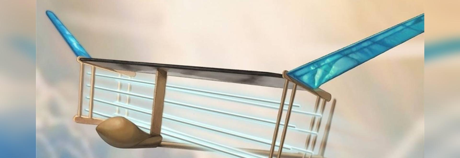 Revolutionäres leichtes Flugzeug benutzt Ionenwind, um seinen Flug anzutreiben