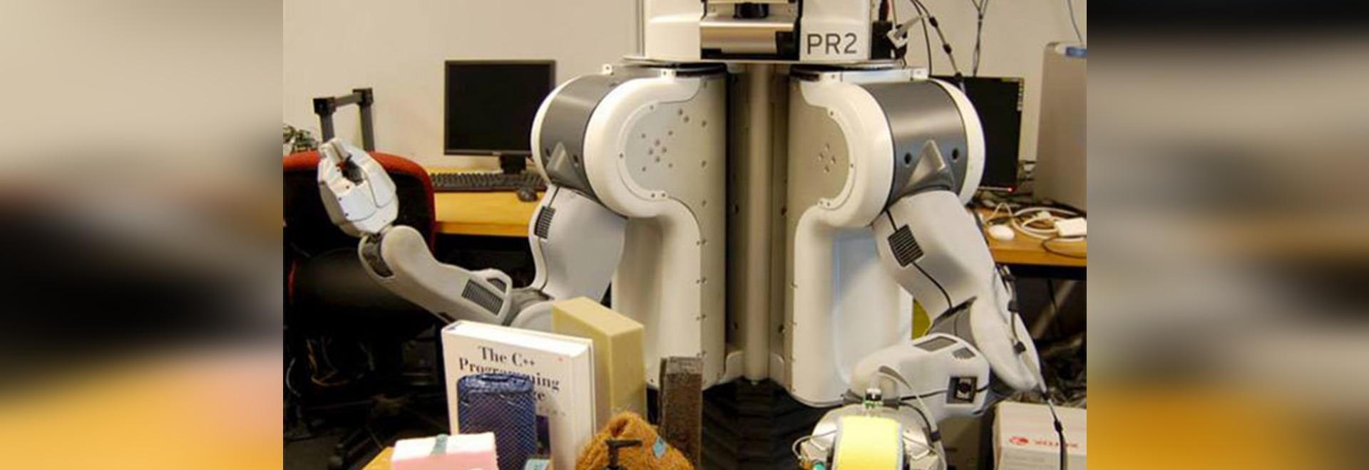 ROBOTER PR2 DURCH UNIVERSITÄT VON PENNSYLVANIEN? GRUPPE UND UC BERKELEY S-HAPTICS