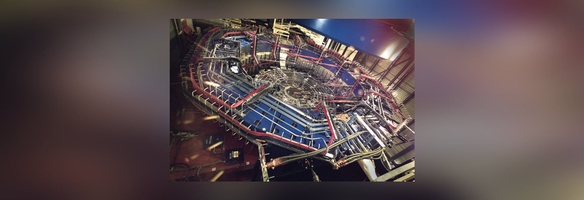 Der STERN-Detektor ist ein Teil des relativistischen schweren IonenCollider (RHIC) gelegen am Brookhaven nationalen Laboratorium. (Höflichkeit des Brookhaven nationalen Laboratoriums)