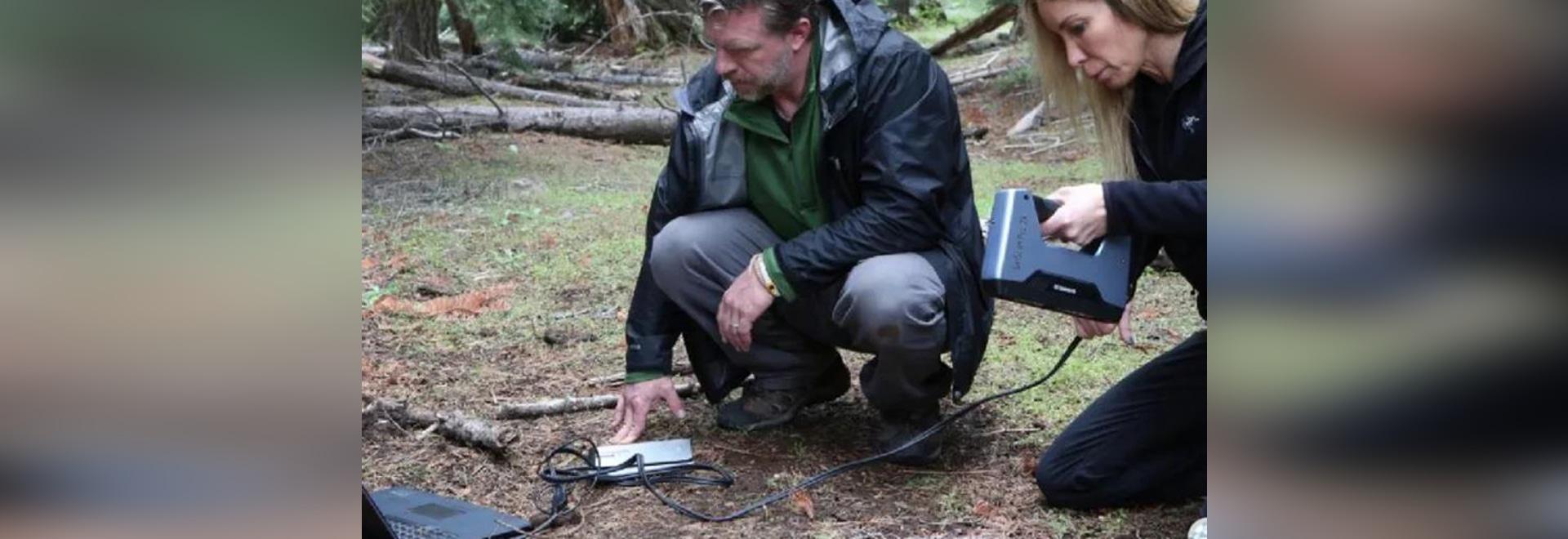U.S. Travel Channel Nutzt EinScan Pro 2X, um zum Kern uralter Geheimnisse vorzudringen