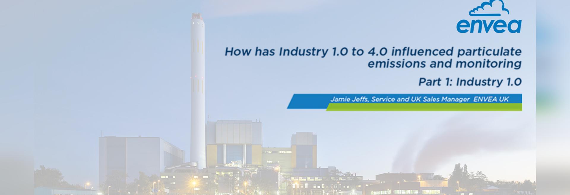 Wie hat Industrie 1.0 bis 4.0 die Partikelemissionen und die Überwachung beeinflusst?