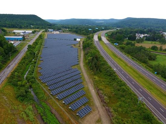 Recom schließt 4,07 MW Solaranlage im Staat New York ab