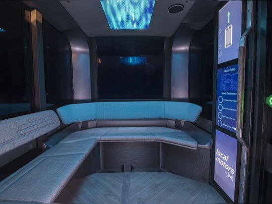 Treffen Sie Olli 2.0, ein 3D-gedrucktes autonomes Shuttle