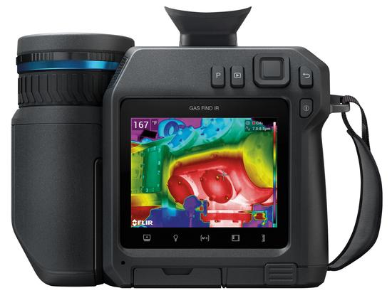 Preiswerte Methanerkennungskamera für Gasinspektionsprofis