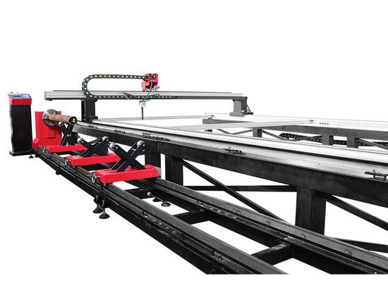 SteelTailor Dragon III-Tt Portalschneidemaschine und CNC-Rohrschneidemaschine