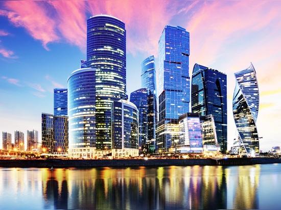 Moskau City - der Geschäftsbezirk