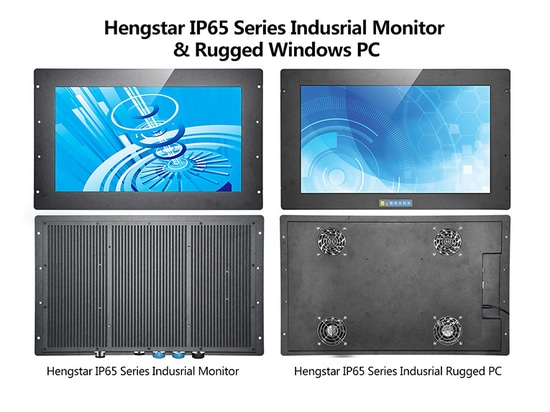 Hengstar IP65 Serie Industriemonitor & Robuster Windows PC