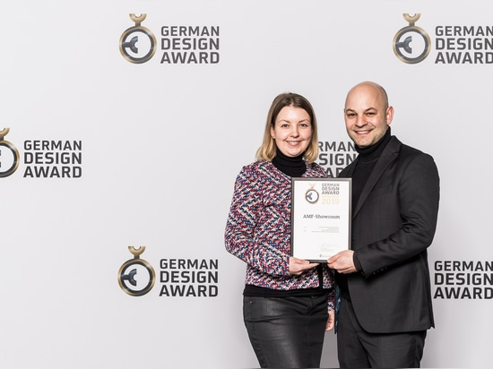 AMF ist GERMAN DESIGN AWARD WINNER 2019