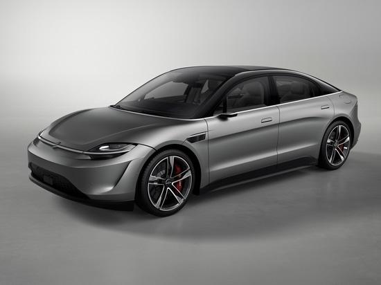 Sony präsentiert einen Elektroauto-Prototypen auf der CES in Las Vegas