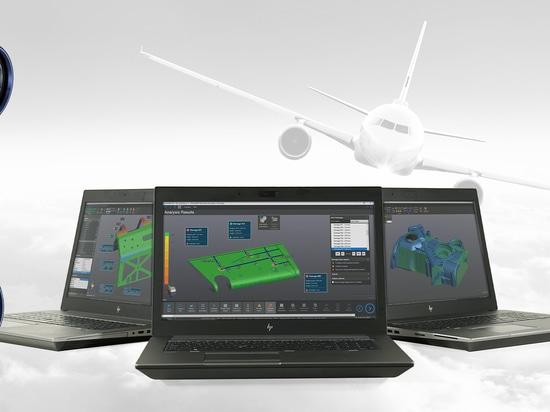 Creaform präsentiert: HandySCAN AEROPACK für die Luftfahrtindustrie