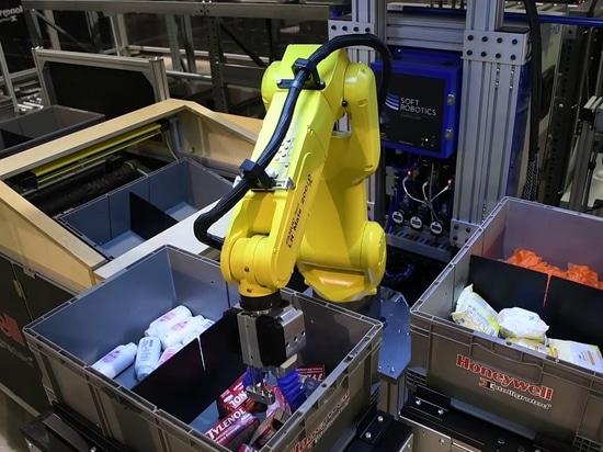 FANUC schließt sich der überzeichneten Finanzierungsrunde der Serie B von Soft Robotics an