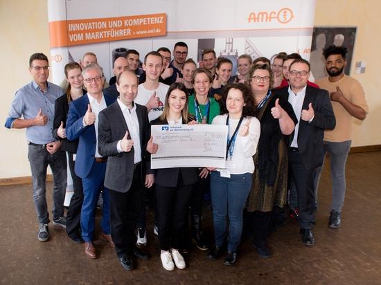 AMF - Spendenübergabe