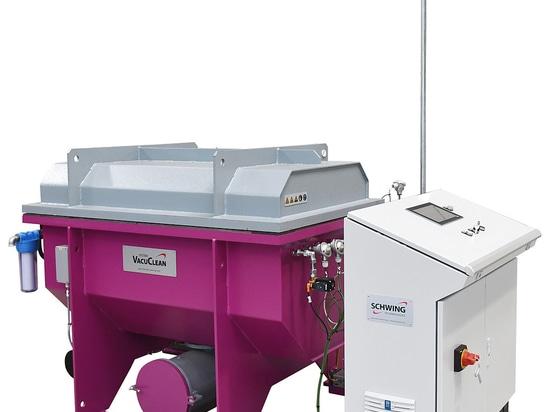 Thermische Vakuum-Reinigungssystem VACUCLEAN von SCHWING Technologies