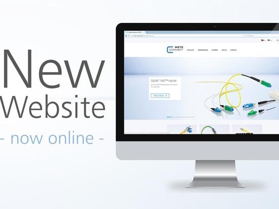 Neue Website von METZ CONNECT ab sofort online