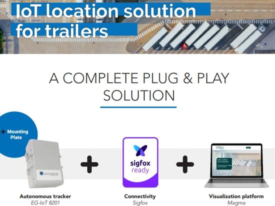 IoT-Standortlösung für Anhänger