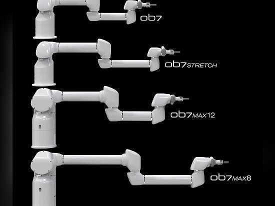 Produktive Robotik stellt OB7-Stretch vor, das vierte Modell seiner Reihe von lehrbaren Cobots der nächsten Generation
