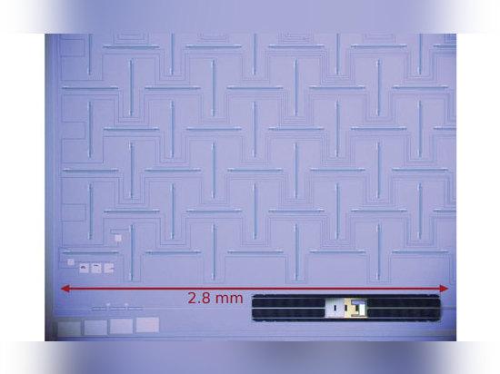 Die Antennengruppe ist eine orthogonale Schlitz 12 X12 Vor-antenne und Summierennetz. Die Reihe ist für das Beamforming innerhalb der Polarimetermaßeinheit bestimmt. (Höflichkeit der Freigabe der R...
