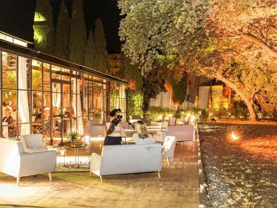 Veranstaltungszelt Orangerie