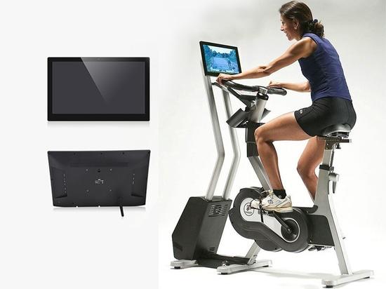 Dynamisches Fahrrad mit Smart Tablet PC