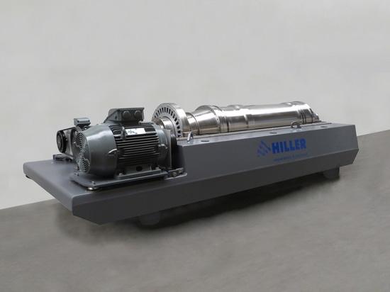 Hiller DP484 mit Lysat