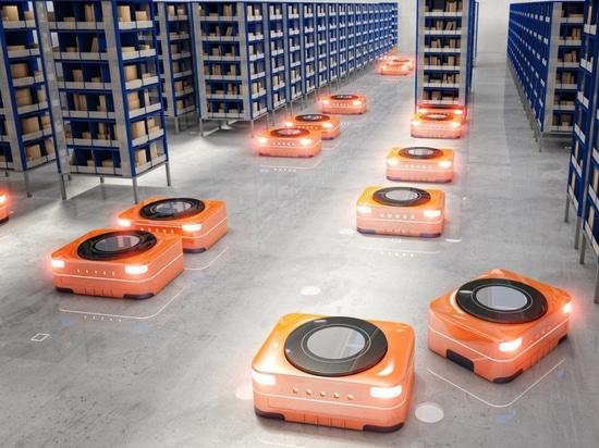 UMAG Magnet in der Logistikautomation eingesetzt