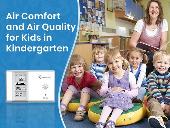 Raumluftqualität im Kindergarten ist der Eckpfeiler zur Schaffung von Komfort und Wohlbefinden