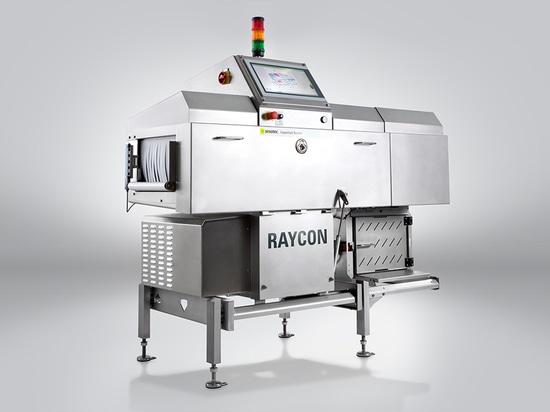 Das Röntgeninspektionsgerät RAYCON D+ erfüllt alle gängigen Richtlinien der Lebensmittelindustrie und erkennt kleinste physikalische Verunreinigungen, in jeglicher Art von Verpackungen. (Foto: Seso...