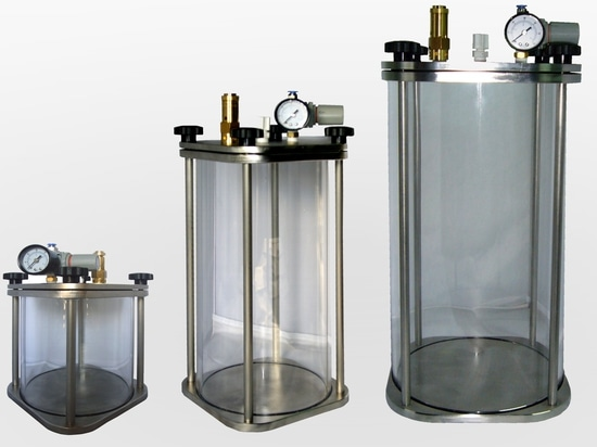 Klare Druckbehälter der Serie CT