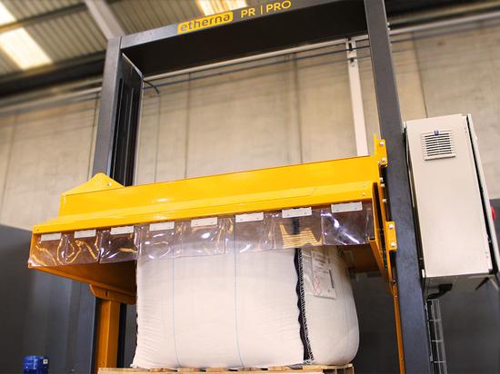 Neue automatische hydraulische FIBC-Presse