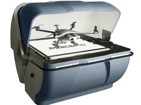 Percepto ist vor allem für seine Drohnen-in-a-Box-Lösung bekannt. Sparrow kann in der Tat Inspektionsmissionen auf Abruf autonom und ohne die Hilfe eines Bedieners durchführen