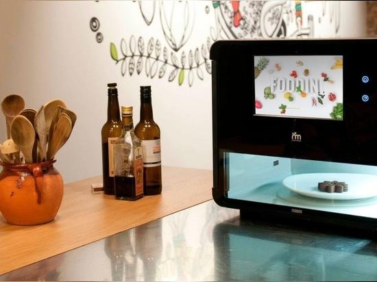 Foodini ist eine 3D-Küchenmaschine zum Drucken von Lebensmitteln
