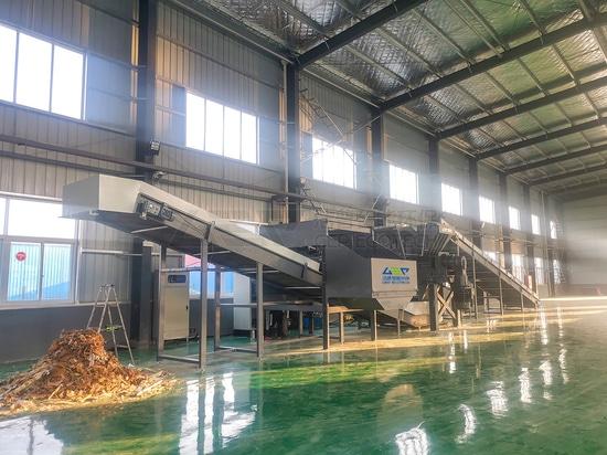 GEP-Sperrmüllentsorgungsschredder in Huai'an hat die formale Abnahme auf Anhieb bestanden