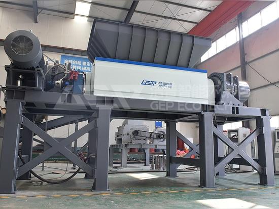 Industrielle Hochleistungs-Kunststoffschredder-Maschine für IBC-Tank-Entsorgung