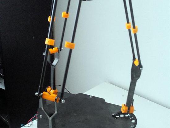 Der gegenwärtige Prototyp Krak3n.