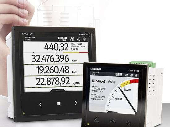 Leistungsanalyser für Schalttafeleinbau, CVM-B100, CVM-B150