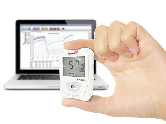 Neue kompakte Temperatur und Feuchtigkeit dataloggers