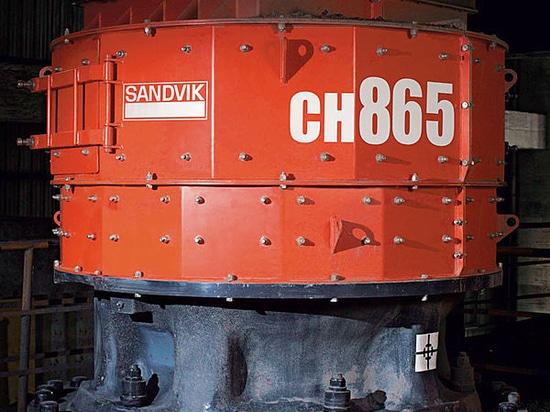 Sandvik startet Mittelbereichbergbauzerkleinerungsmaschinen