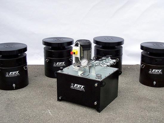 Hochdruckzylinder - 1000 Tonne - für große anhebende Betriebe