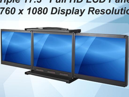 Tragbarer Einfachterminal: Volle Anzeigen-Beschlüsse HD-LCD Platten-(5760 x 1080)